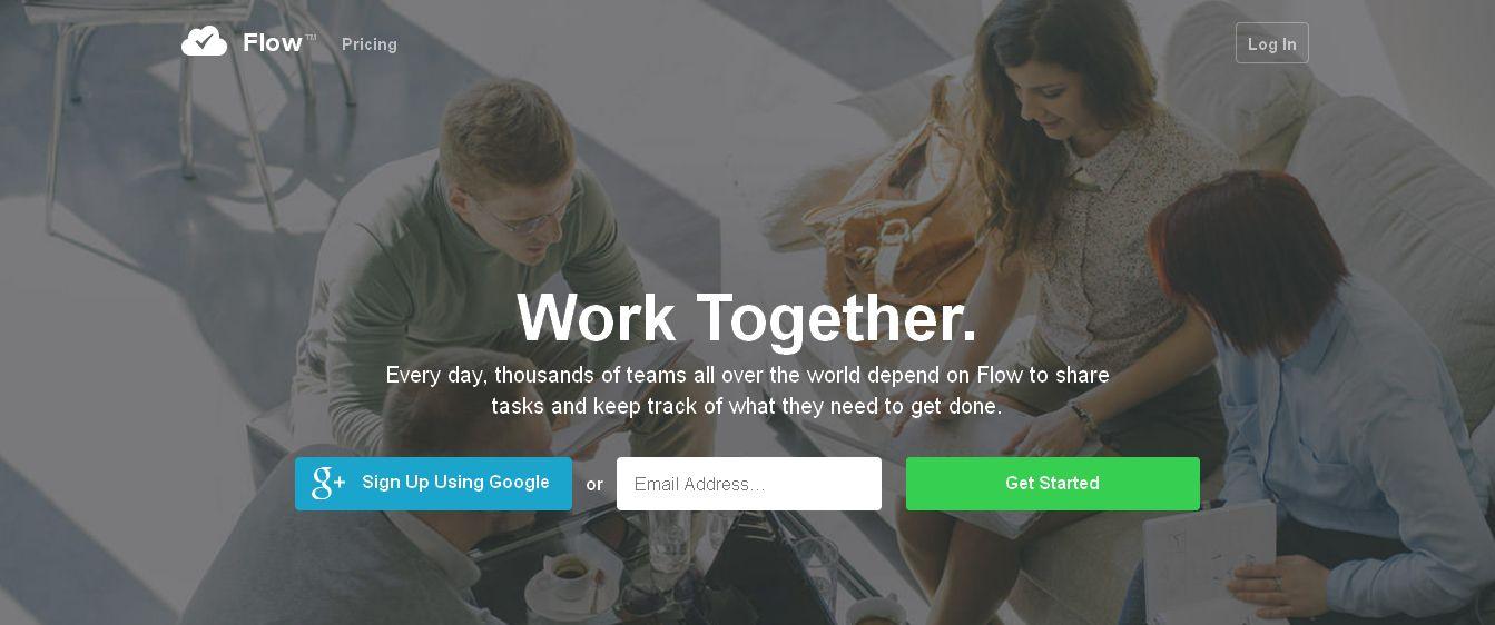 Flow · Task Management for your Team