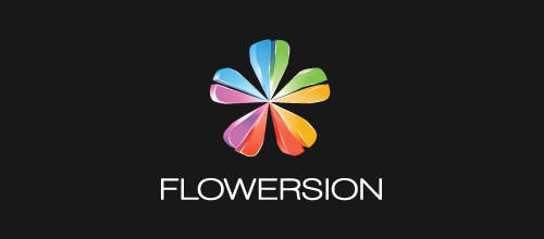Multicolor Logo Designs Flowersion