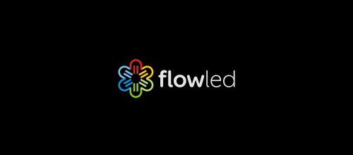 Multicolor Logo Designs Flowled