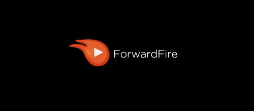 Hot Burning And Fire Logo Design ForwardFire
