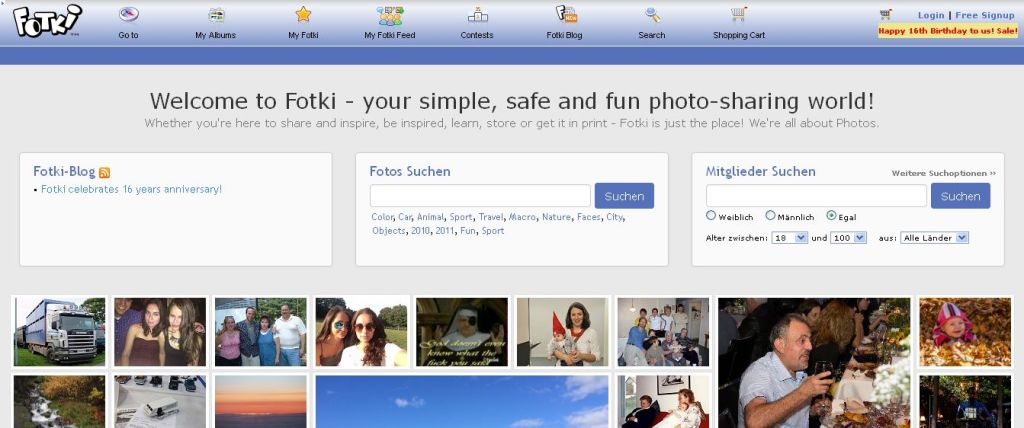 Fotki - Ihre Fotos im Netz I Fotki_com, photo and video sharing made easy