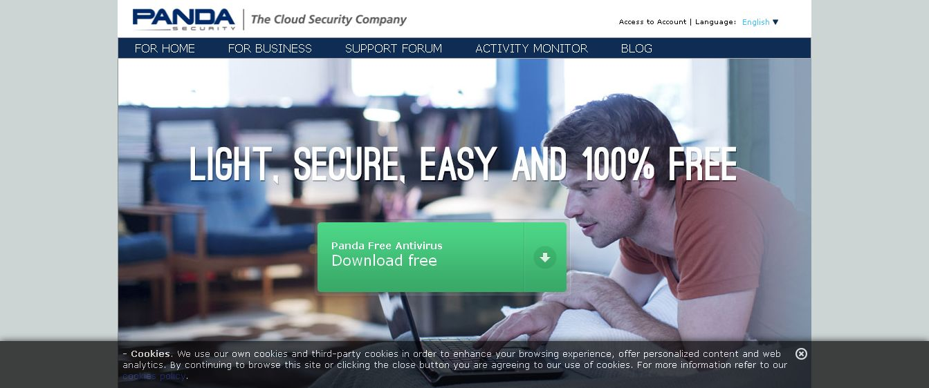 Free Antivirus Download - Panda Cloud Antivirus