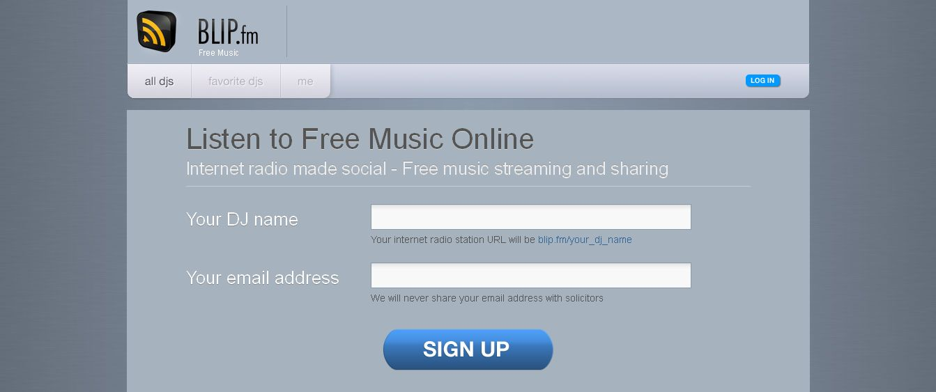 Free Music I Listen to Music Online I Free Streaming Radio I Blip_fm