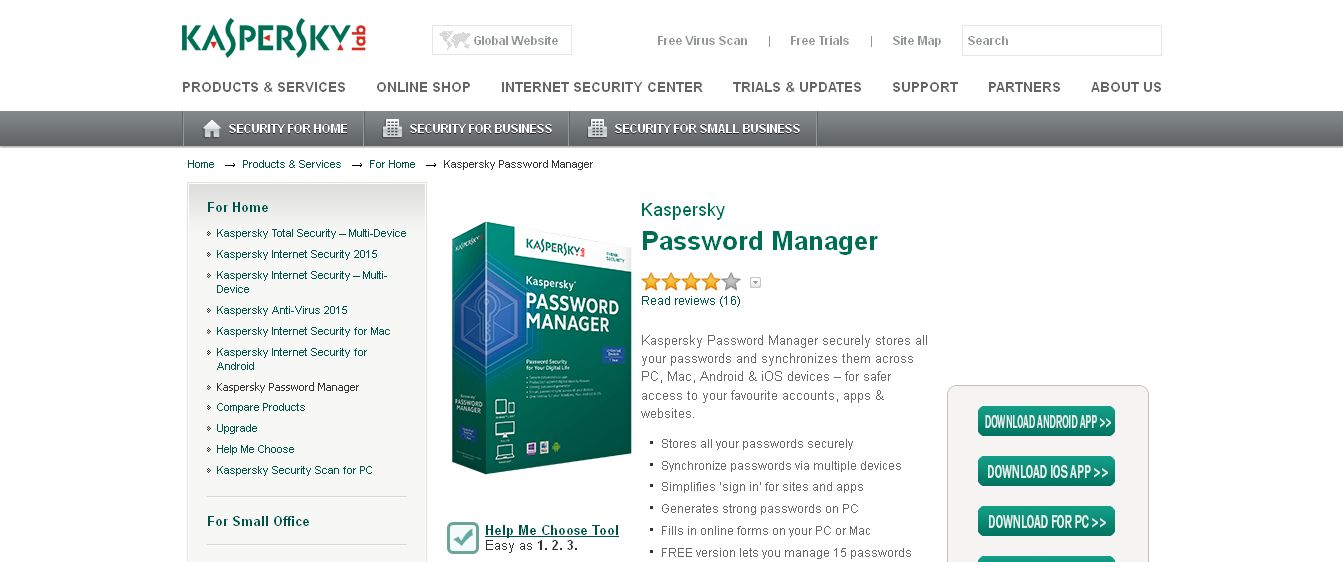 Kaspersky Password Manager I Password Protection I Kaspersky Lab
