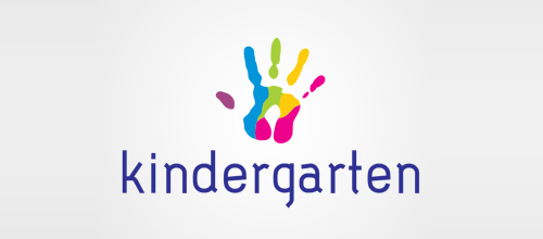 Multicolor Logo Designs Kindergarten