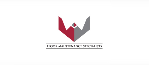 logo design M&M Floor Maintenance Specialists