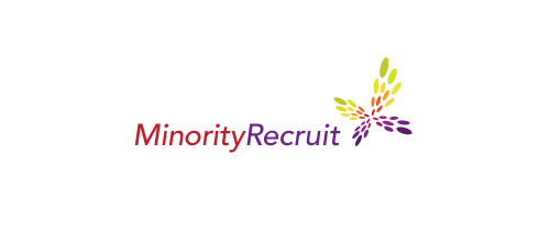 Multicolor Logo Designs Minority Recruit