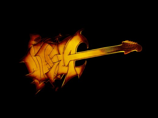 Guitar Logo Designs for Your Inspiration