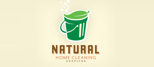 logo design Natural Home Cleaning Services