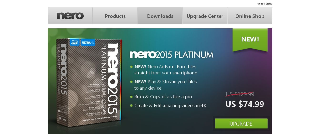Nero - Burning, ripping and copying - Nero BurnLite is Nero MediaHome