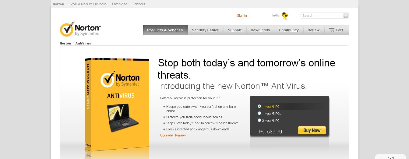 Norton AntiVirus 2014 - Virus Protection