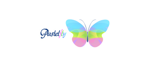 Multicolor Logo Designs Pastel Fly