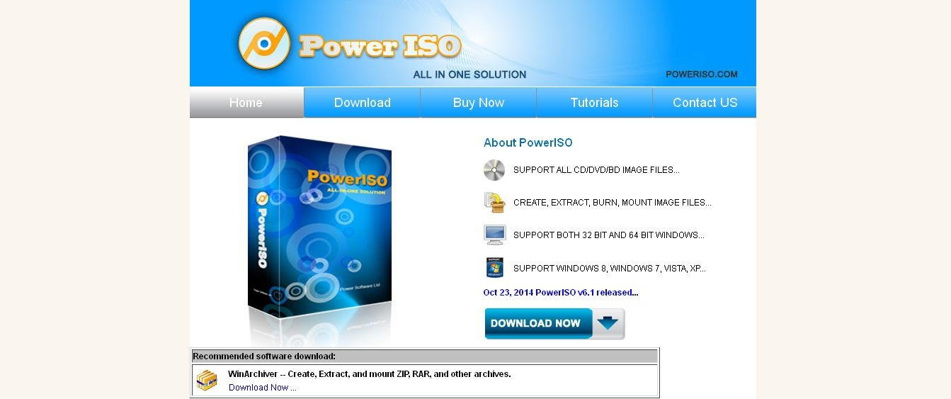 PowerISO - Create, Burn, Mount, Edit, Compress, Encrypt, Split, Extract ISO file, ISO_BIN converter, Virtual Drive