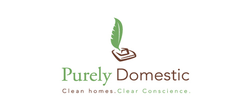 logo design Purely Domestic
