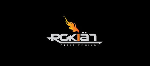 Hot Burning And Fire Logo Design Rokian