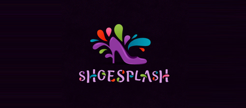 Multicolor Logo Designs Shoe Splash
