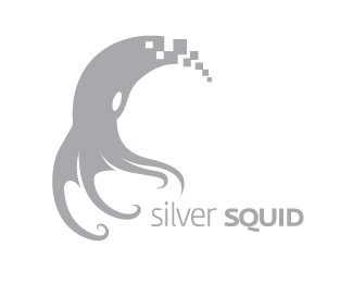 Silver Squid Beautiful Animal and Pet Logo Designs