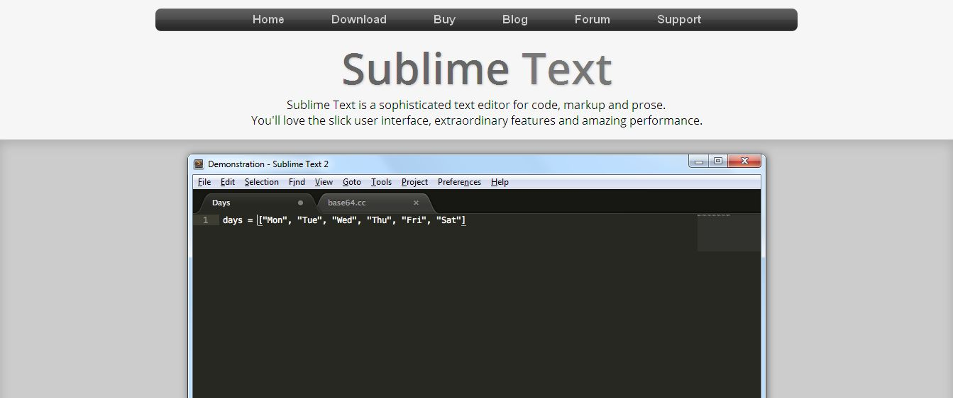 Sublime Text_ The text editor you'll fall in love with