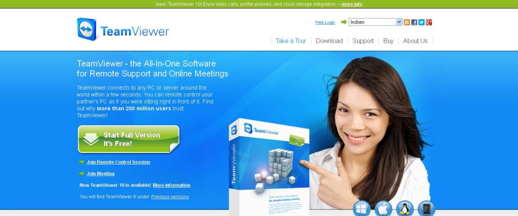 TeamViewer - Free Remote Access and Remote Desktop Sharing over the Internet