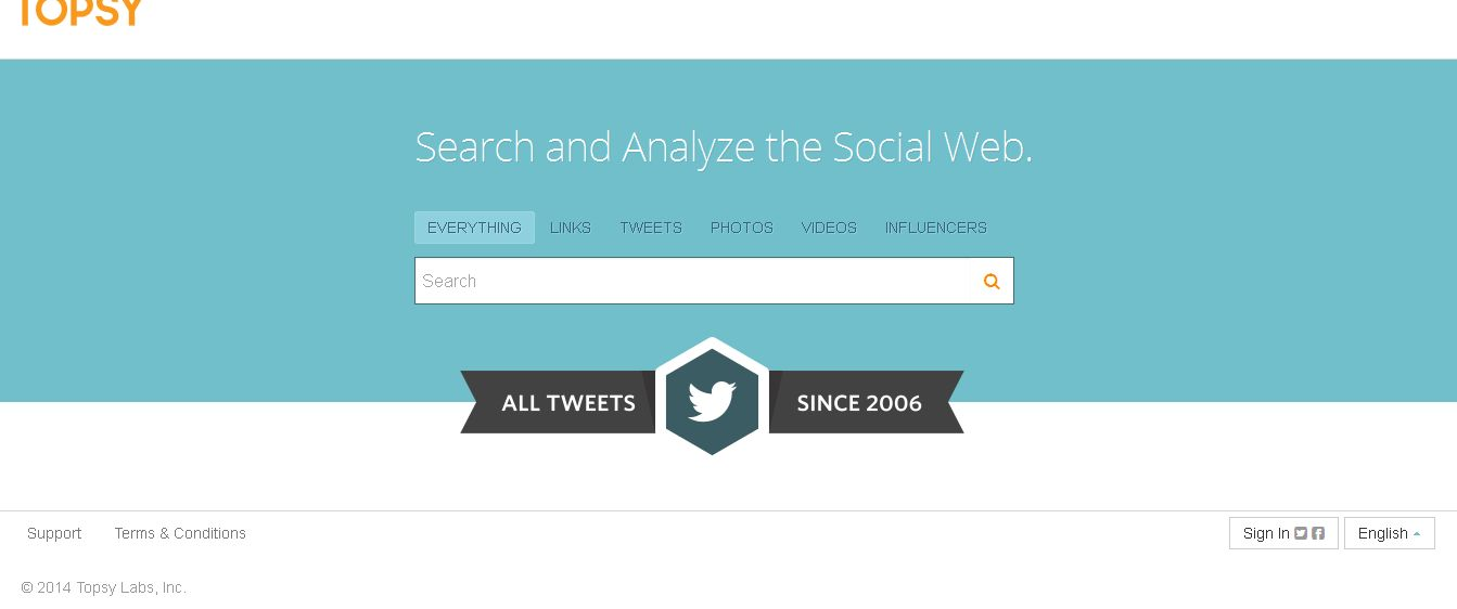 powerful search engines social networks