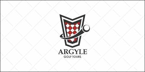 argyle golf tours thumb Unique and Creative Golf Logo Designs