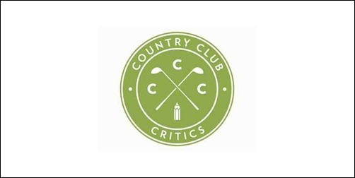country club critics thumb Unique and Creative Golf Logo Designs