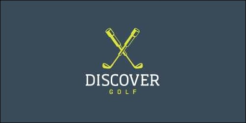 discover golf thumb Unique and Creative Golf Logo Designs
