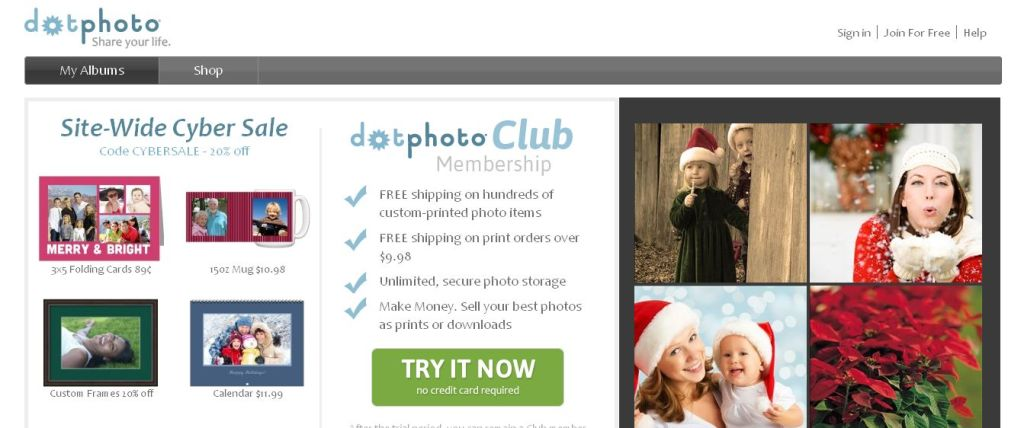 dotPhoto Photo Sharing and Online Photo Album