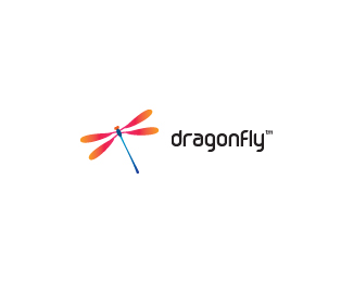 dragonfly Beautiful Animal and Pet Logo Designs