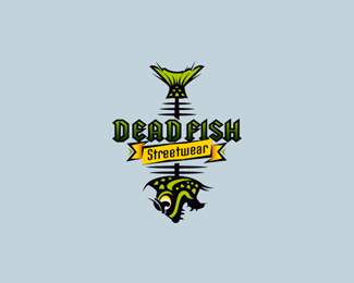 Dead Fish Logo Design