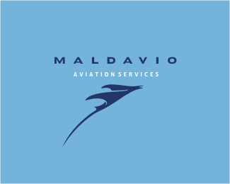 Maldavio Fish Logo Design