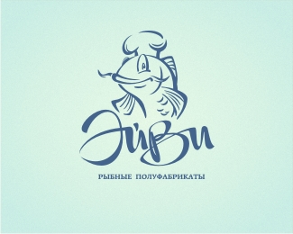 ayvi Fish Logo Design