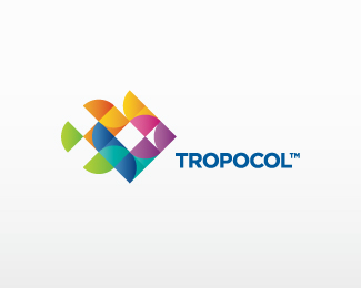 TROPOCOL Fish Logo Design