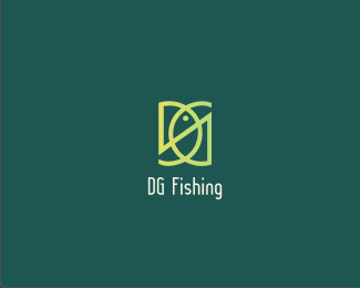fishing Fish Logo Design
