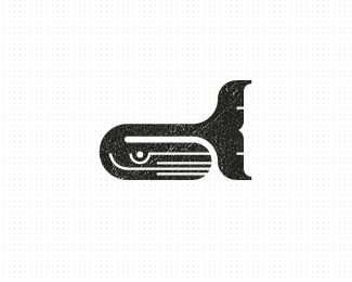 Whaley Fish Logo Design