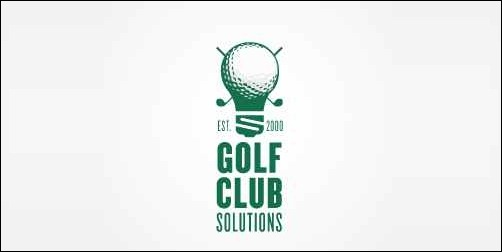 golf club solutions  thumb Unique and Creative Golf Logo Designs