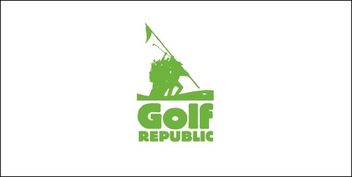 golf republic thumb Unique and Creative Golf Logo Designs