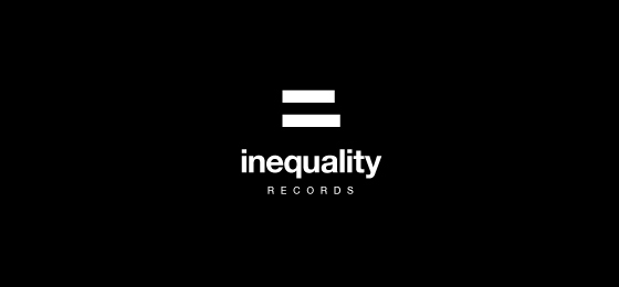 Punctuation Mark Logo Designs Inequality Records