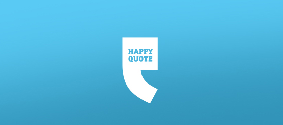 Punctuation Mark Logo Designs Happy Quote