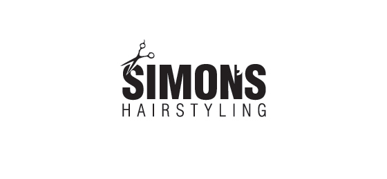 Punctuation Mark Logo Designs Simon's Hairstyling