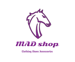 mad shop horse logo design