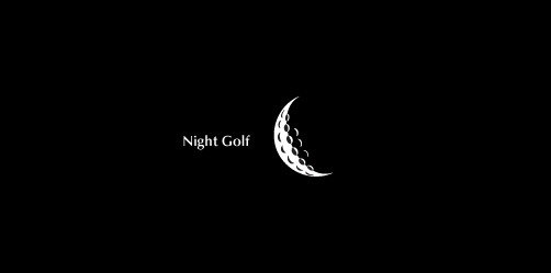 nightgolf thumb Unique and Creative Golf Logo Designs