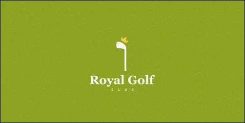 royal golf club thumb Unique and Creative Golf Logo Designs