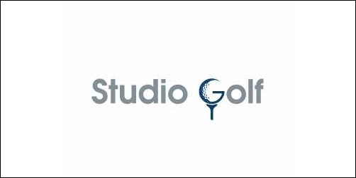 studio golf thumb Unique and Creative Golf Logo Designs