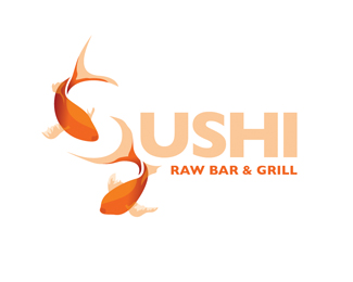 sushi Beautiful Animal and Pet Logo Designs