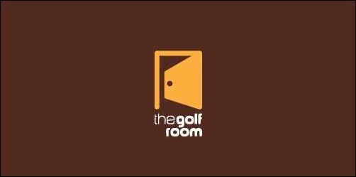 the golf room3 thumb Unique and Creative Golf Logo Designs