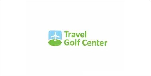 travel golf center thumb Unique and Creative Golf Logo Designs