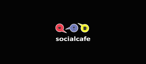 Socialcafe logo designs