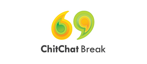 ChitChat Break logo designs
