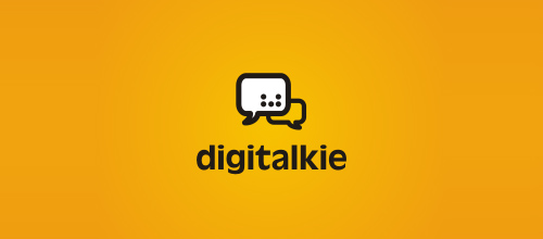 Digitalkie logo designs